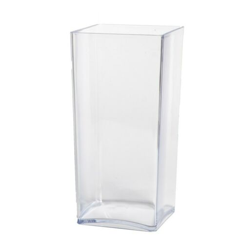Acrylic Designer Cube Vase 25x12x12cm Oasis Floral Floristry