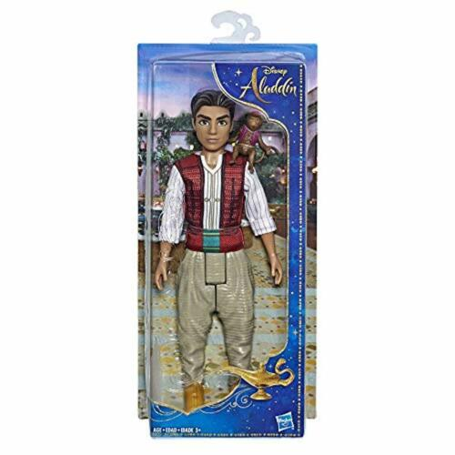 Disney Aladdin Fashion Doll w// Abu Live Action Figure Collectible Toy Best Gift