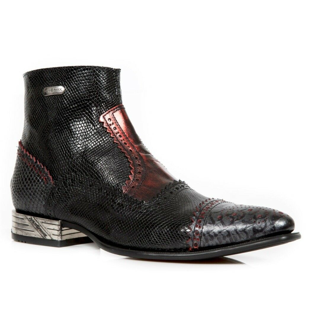 NEWROCK NR M.NW133 S7 Black - New Rock Boots - Mens