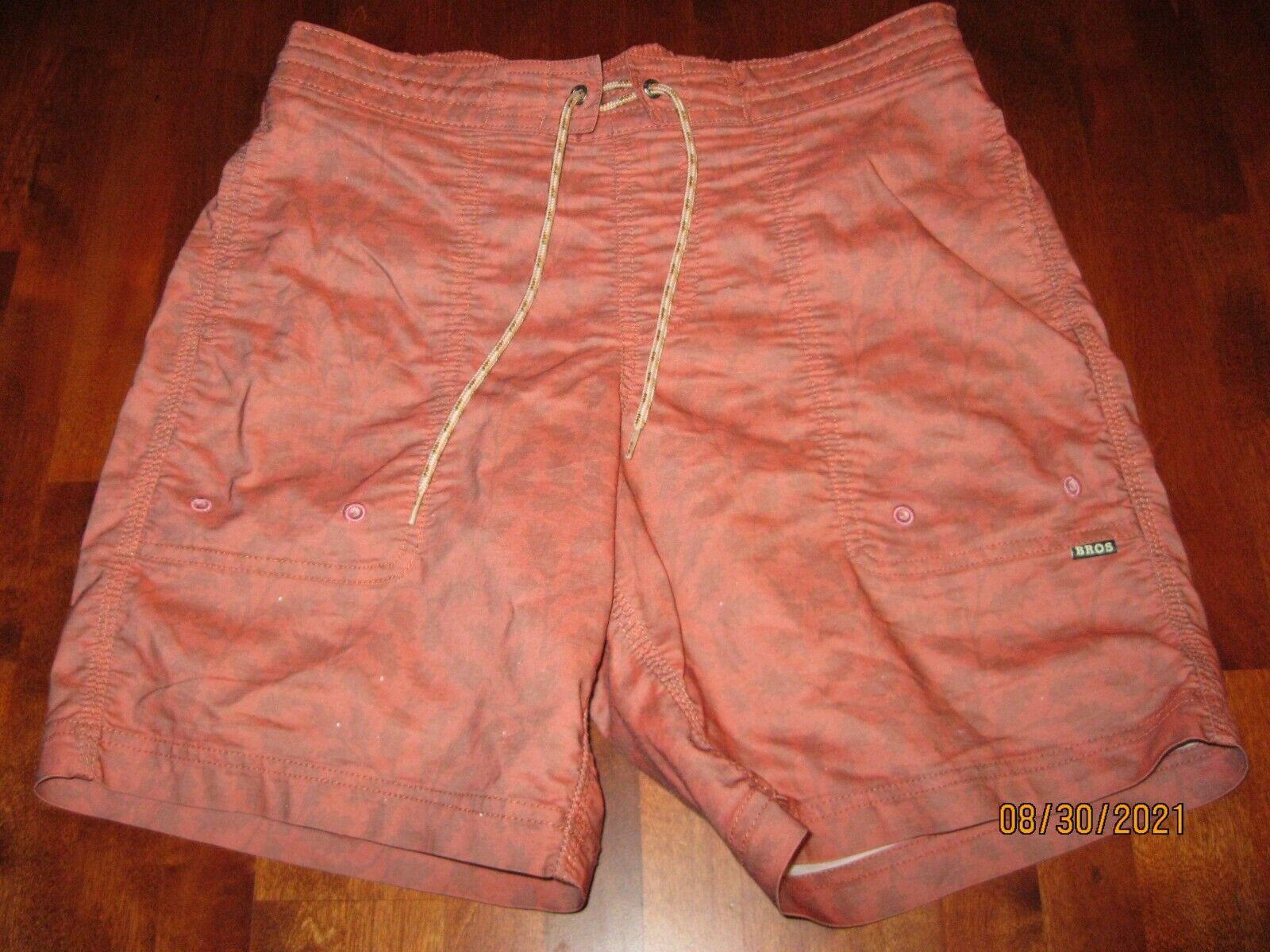 Usado en excelente estado aullador hermanos Board Shorts para Hombre Talla 30X8 prestar atención a la llamada Corbata