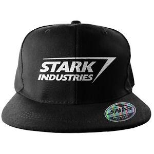 cd216c81c Details about Hat The Avengers - Stark Industries Logo Snapback Cap Hat  Marvel Beechfield