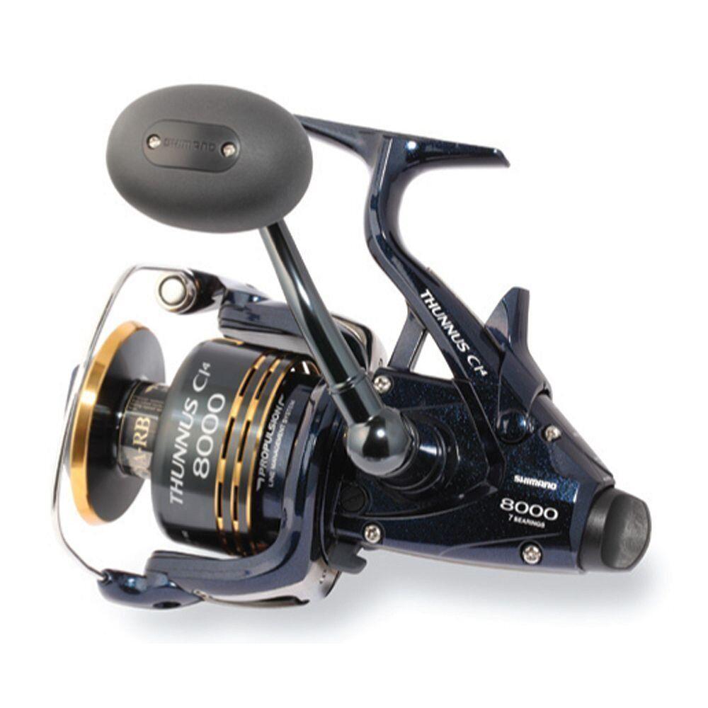 Shimano Thunnus 6000 CI4, Saltwater baitrunner spinning reel, TU6000CI4