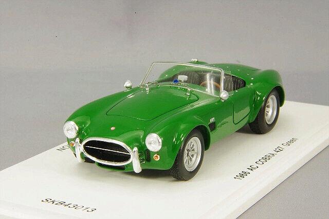 Spark 1:43 AC Cobra 427 Green 1966 from Japan