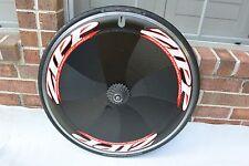 Rear Zipp  900 Disc Wheel 700c Clincher Zed Tech