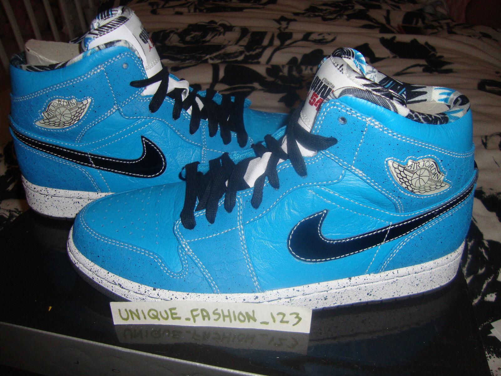 Nike air jordan retrò alto quai 54 bruta n tuff noi 9 allevati blu reale