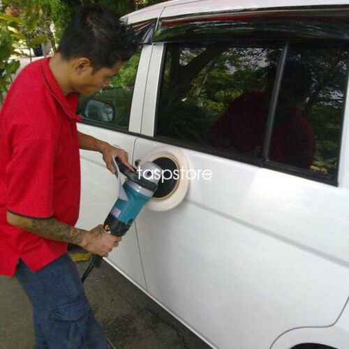 "2PC 6/"" 100/% lamb Wool Car Polish Paintwork Bonnet Auto Buffing Pad 150mm"