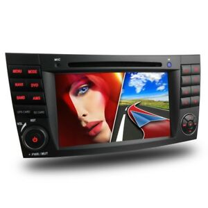 AUTORADIO-PASSEND-FUR-MERCEDES-W211-W219-NAVI-GPS-BLUETOOTH-DVD-USB-SD-MP3