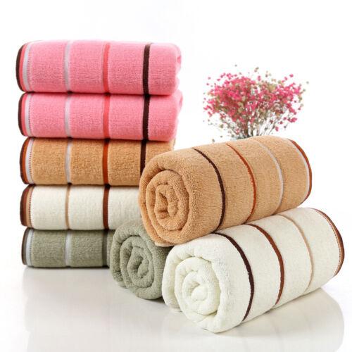 Unisex Bath Shower Towel Large Thick Towels Set Home Bathroom Hotel Adults Kids