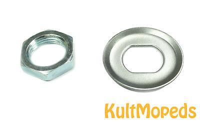 100% QualitäT Ritzel Mutter Sicherungsblech Pass F Simson S51 S70 Kr51 Schwalbe Sr50 Sr80 S53