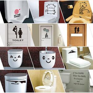 Toilet-Seat-Wall-Sticker-Vinyl-Art-Wall-paper-Removable-Bathroom-Decals-Decor