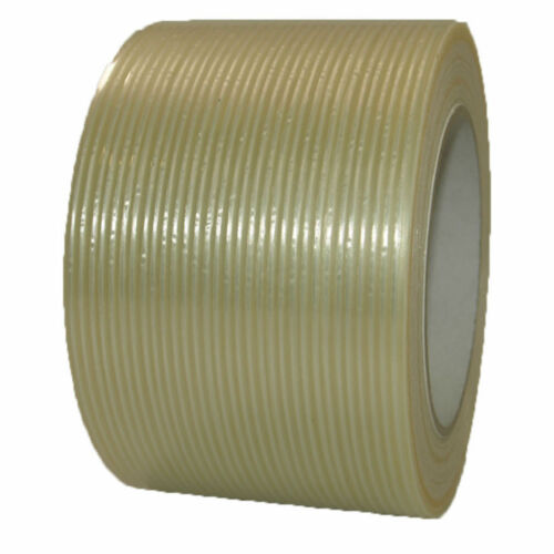 Fabric Filamentband 25-38-50-75mm x 50m Glass Fibre Adhesive Tape Packing Tape
