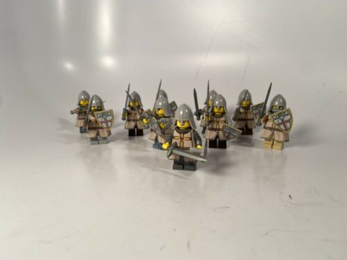 R Lego Castle Knight Army Custom Tan Made With Real Lego