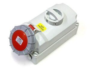 16a-Douille-Verrouillage-3p-N-E-5-Broches-Interrupteur-Isolateur-380v-415v