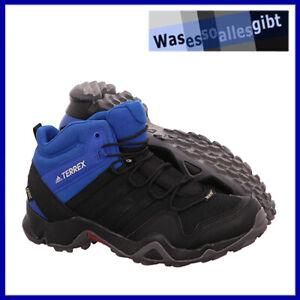 SCHNAPPCHEN-adidas-Terrex-AX2R-Mid-GTX-schwarz-blau-Gr-44-O-3703
