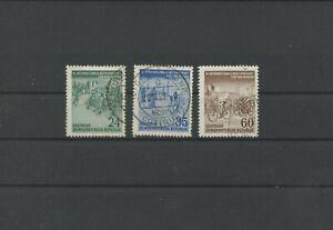 Germany-GDR-vintage-yearset-1953-Mi-355-357-Postmarked-Used-More-Sh-Shop-2