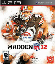 Madden NFL 12 PlayStation 3 PS3 Video Game JC Used