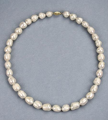 11-13 mm Perle Baroque Collier 14K//NKL040046-20