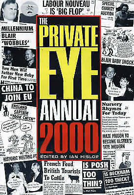 """""""AS NEW"""" The Private Eye Annual 2000, , Book"""