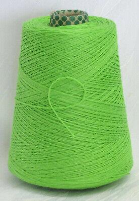 granny weicher Zwirn 22 EUR //Kg 60/% Merino Superwash Wolle Stricken grün LL 180m
