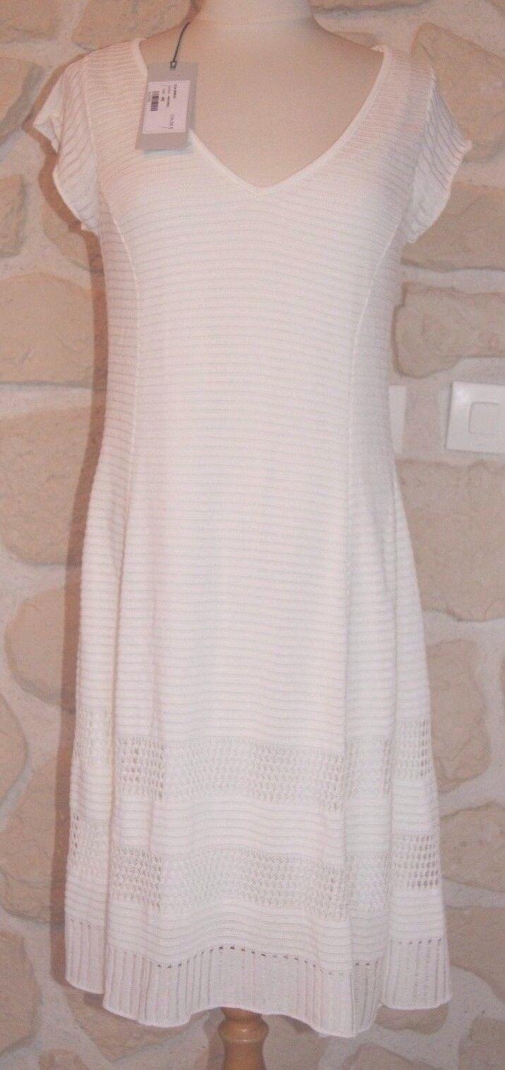 Robe neuve Farbe naturelle marque Eva Kayan Größe 44 étiqueté à