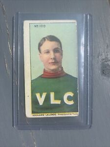 Edouard (Newsy) Lalonde C59 Lacrosse Card 1910 Imperial Tobacco #100 Hockey Hall