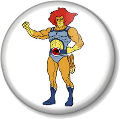 "Thundercats Lion-O 25mm 1/"" Pin Button Badge Kids Cartoon Retro Vintage Geek Lion"