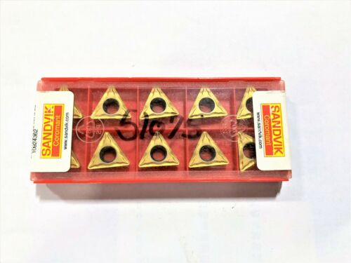 Sandvik TCMT 16 T3 08-UM 1025 Carbide Turning Inserts ***NEW PACK OF 10***