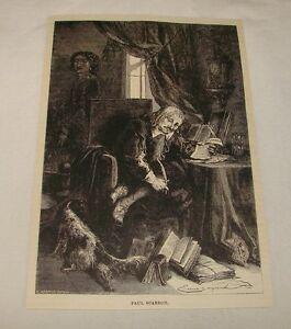 1887-magazine-engraving-PAUL-SCARRON-Dramatist