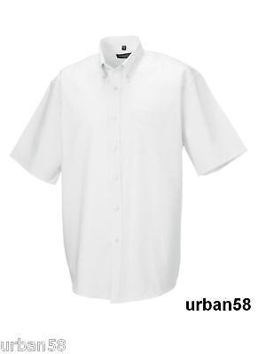 in Übergröße 3XL bis 6XL 7980 Herren Hemd Kurzarm weiß