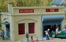 PIKO BILL'S AUTO BODY SHOP G Scale Building Kit #62208 New in Box