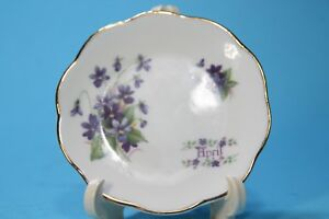 Vintage-Staffordshire-Small-Sized-Plate-floral-034-APRIL-034