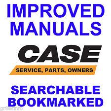 CASE 580D 580SD Super D Tractors SERVICE MANUAL, OPERATOR, PARTS -3- MANUALS CD