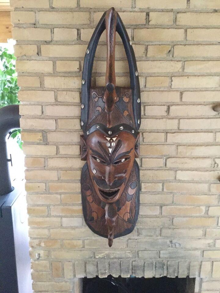 Afrikansk maske, Ukendt, motiv: Vægmaske