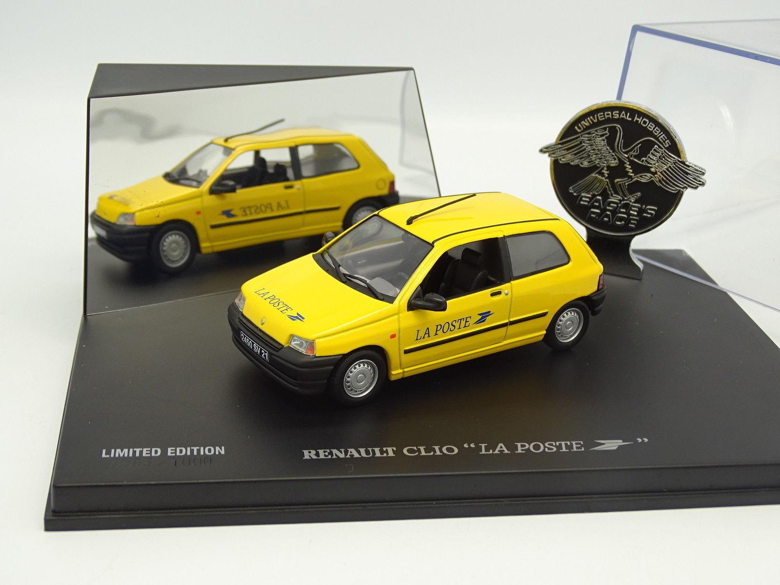Universal Hobbies UH 1 43 - Renault Clio I La Poste