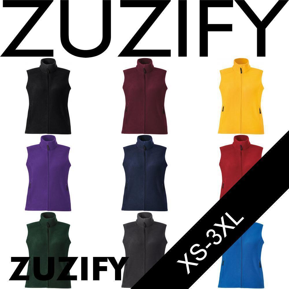 ZUZIFY Migration Ladies Fleece Vest. Vest. Vest. XG0578 2afd23