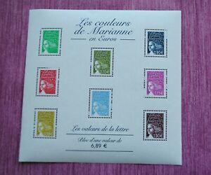 FRANCE-BLOC-FEUILLET-N-67-NEUF-LES-COULEURS-DE-MARIANNE-2004