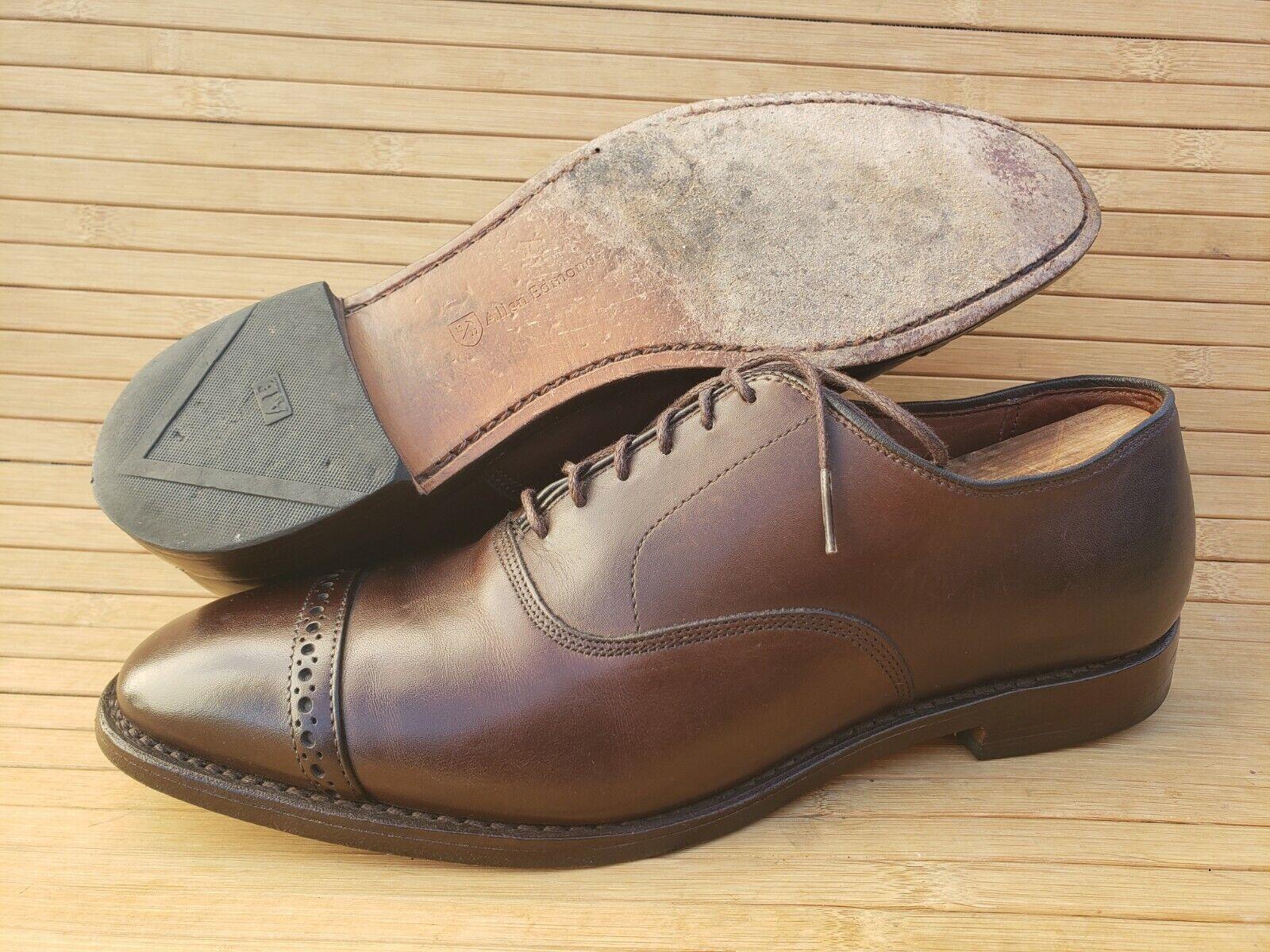 Cap Toe Dress Shoe 10.5 3e (wide