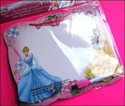 Disney PRINCESS Dry Erase Board + Marker Pen Party Favor Novelty Toy FREE POST