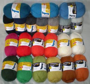 4-99-100-gr-REGIA-Sockenwolle-uni-Classic-und-Trend-Sonderpreis-Farbwahl