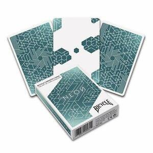Bicycle-NEON-playing-cards-1-Deck-Cardistry-Poker-Magic-tricks-USPCC