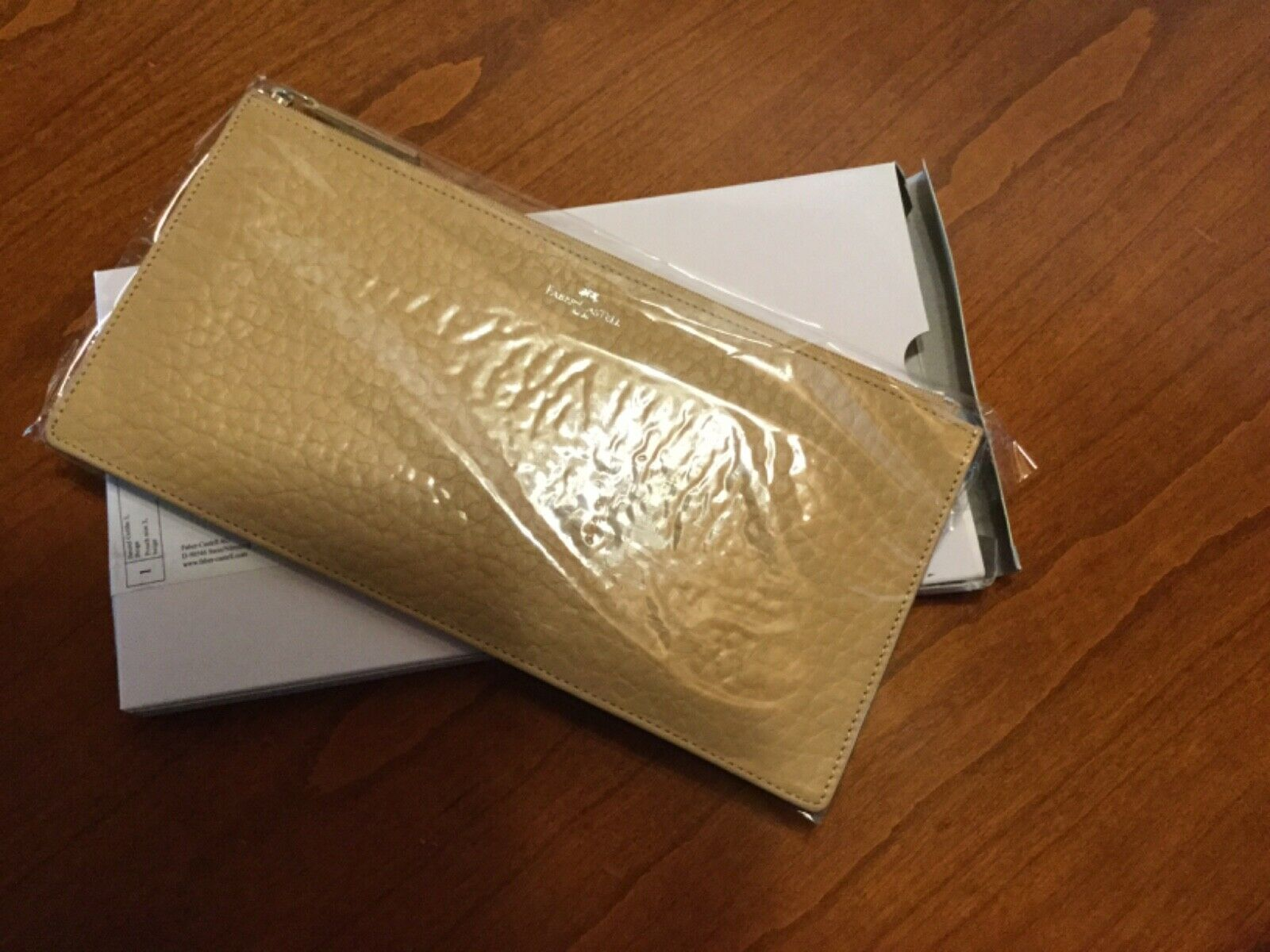 * SALE * Faber Castell Bags pouch, beige, reference: 189327