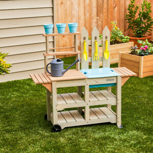 Kidkraft Greenville Garden Station Kids Outdoor Gardening Center