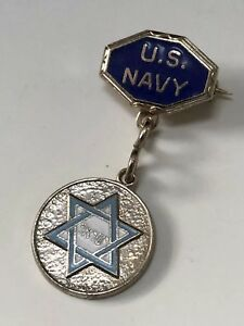 Vintage 1940/'s WWII Sweetheart Lapel Pin US NAVY Patriotic Homefront Jewelry USN