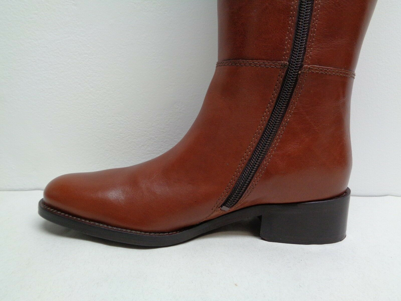 Johnston & Murphy Size 6 M SARI CHAIN Brown Leather Leather Leather Boots New Womens shoes 773b90