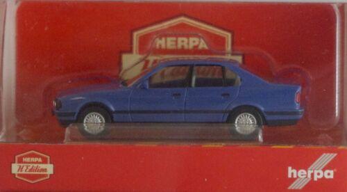 """Herpa 028936 BMW 5er Limousine E34 /""""Herpa-H-Edition/"""" mit Kennzeichen"""