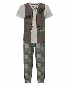 BFG I Believe Pocket Characters Grey Boy/'s Pyjamas