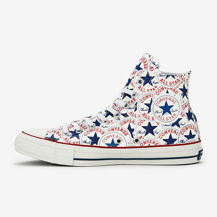 CONVERSE ALL STAR 100 hommeypatch Hi Blanc Chuck Taylor Limited Japan Exclusive
