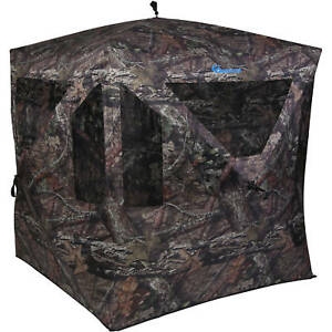 NEW-Hunting-Blind-Mossy-Oak-Camouflage-Ground-Portable-Deer-Protection-Camo