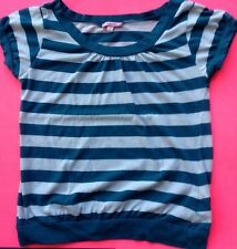 GIRL'S SIZE L 'ENERGIE' STRIPED TOP