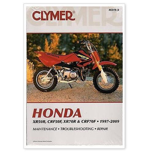 Clymer Repair Manual For Honda Xr50r  Crf50f  Xr70r And